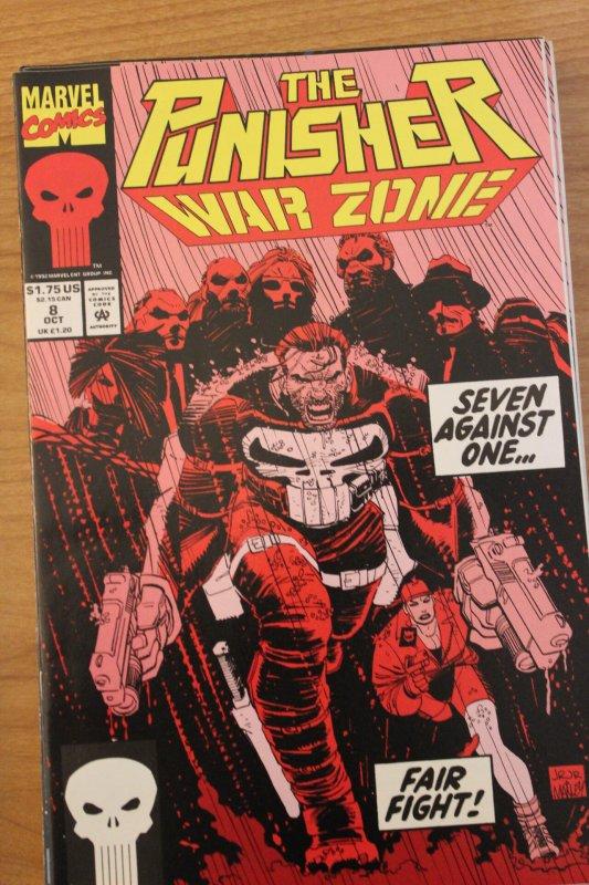 The Punisher War Zone 8 NM