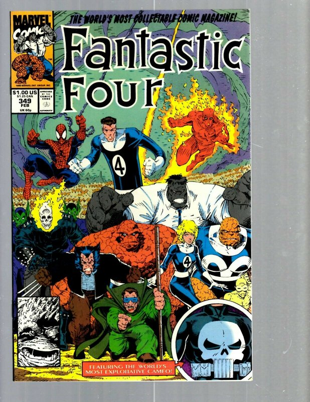 12 Comics Fantastic Four #339 343 344 346 349 351 352 353 359 360 361 + #60 J420