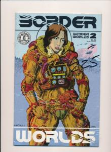 Kitchen Sink Comics Donald Simpson's BORDER WORLDS #1-#4 VERY FINE (HX929)