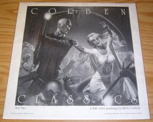Richard Corben Classics Set Two Portfolio - 6 color plates - sqp 1986 art sealed