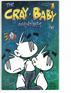 the Cray-Baby Adventures #1 (2nd) VF signed by Art Baltazar - Electric Milk