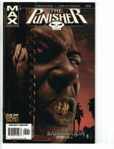 Punisher #32 VG Marvel 2006 - 1st cover appearance of Barracuda - Garth Ennis