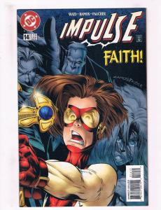Impulse #14 NM DC Comics Comic Book Waid Flash June 1999 DE33 CH19