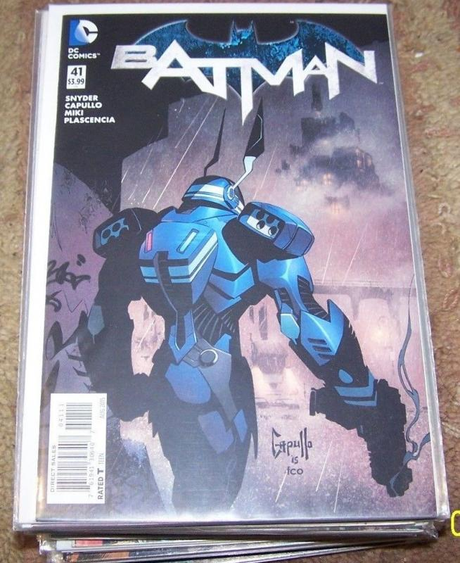 batman #41 2015 dc new 52 scott snyder  greg capullo  1ST  GORDON BATMAM