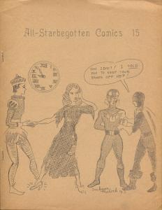 All-STARbegotten #15 1963-rare comics fanzine-4 page issue-FN