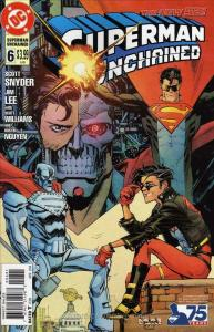 Superman Unchained #6J VF/NM; DC   save on shipping - details inside