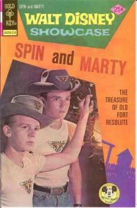 WALT DISNEY SHOWCASE 32 VF-NM SPIN & MARTY COMICS BOOK