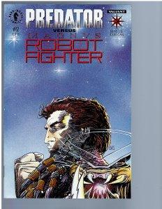 Predator vs. Magnus Robot Fighter #2 (1993) NM