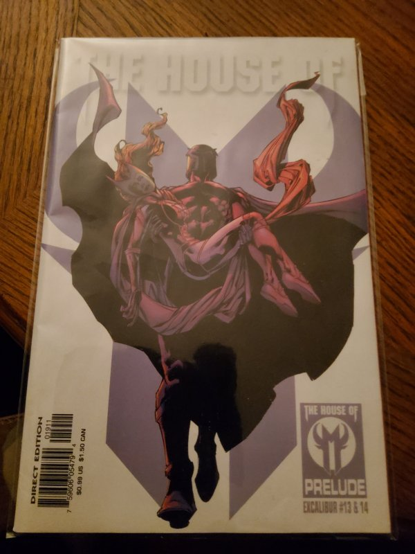 House of M Prelude: Excalibur #1 (2005)