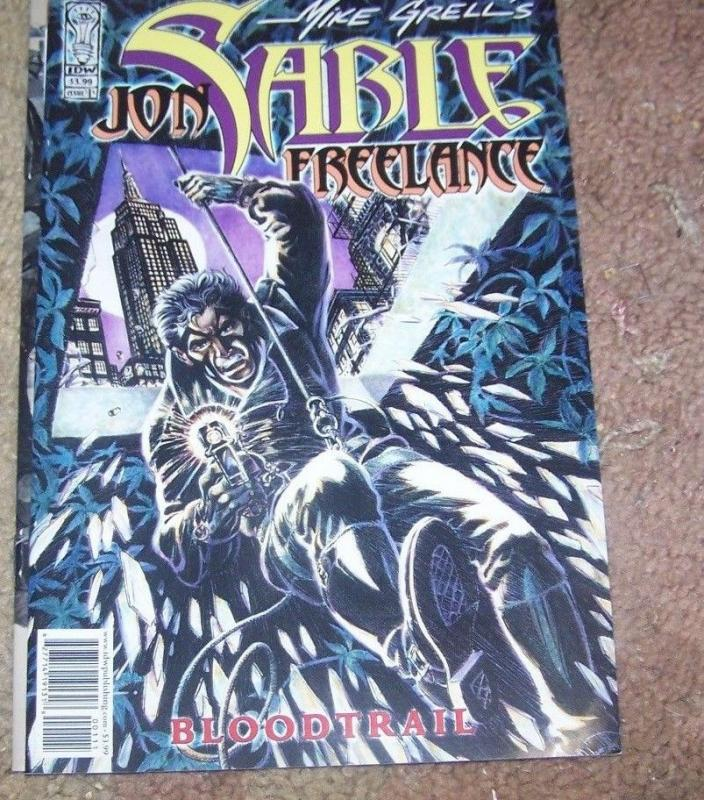 Jon Sable, Freelance: Bloodtrail #1 (Apr 2005, IDW) mike grell