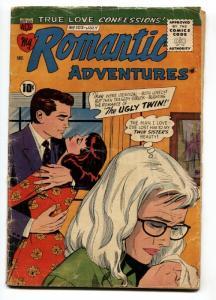 My Romantic Adventures #103 1959-ACG-The Ugly Twin-Romance comic
