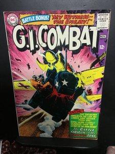 G.I. Combat #114 (1965) Origin Haunted Tank! Kubert! High-grade Boca CERT VF/NM