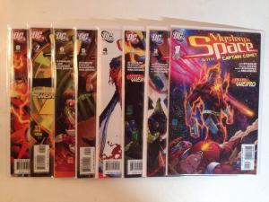 Mystery In Space With Captain Comet 1-8 Complete Near Mint Lot Set Run
