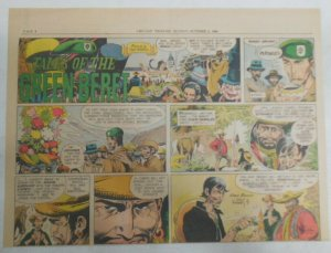 Tales Of The Green Berets by Joe Kubert from 10/2/1966 Size: 11 x 15 inches