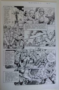 DON LOMAX Original Art, Vietnam Journal #8 pg 14, Brain Dead Horror,Caliber,2011