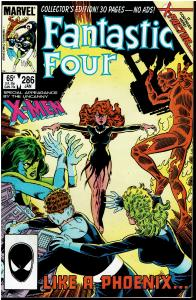Fantastic Four #286, 9.0 or Better *KEY* 2nd Appearance X-Factor