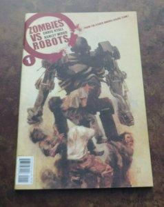 Zombies Vs Robots #1 NM+ High Grade IDW Comic Book 2006 1st Print Ryall Wood