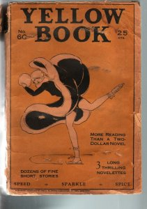 YELLOW BOOK #60-1929-RARE PULP-SPICY-ICE SKATING COVER G-