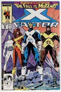 X-FACTOR #26, NM-, Simonson, Fall of the Mutants,Beast, more XF in store