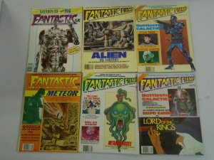 Fantastic Films lot 6 different issues