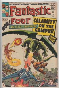 Fantastic Four #35 (Feb-65) FN/VF+ High-Grade Fantastic Four, Mr. Fantastic (...