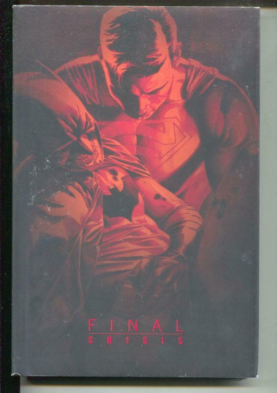 Final Crisis-Grant Morrison-Sealed-Hardcover