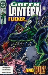 Green Lantern (1990 series) #21, VF (Stock photo)