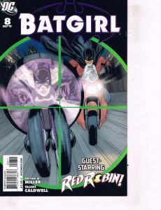 Lot Of 2 DC Comics Book Batgirl #8 and Batman Incorporated #1 ON1