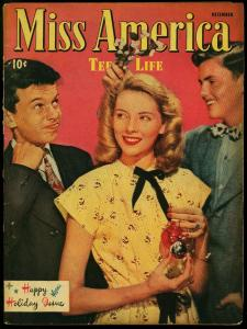 Miss America Vol. 5 #2 1946- Timely Comics- Patsy Walker- Fashions G