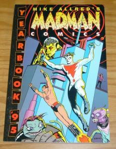 Madman Comics Yearbook '95 TPB VF/NM signed by mike allred Dark Horse
