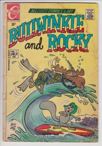 Bullwinkle and Rocky #7 (July 1971) GD- Charlton