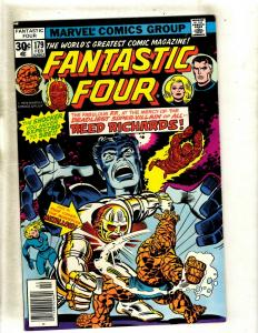Lot Of 6 Fantastic Four Marvel Comic Books # 179 181 182 183 184 185 Thing JF23