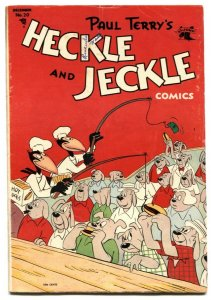 Heckle and Jeckle #20 1954-Golden Age Funny Animal comic VG+