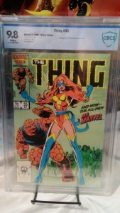 Thing #35 - CBCS 9.8 NM/Mint - White Pages - 1st Sharon Ventura as Ms. Marvel