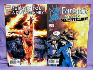 Karl Kesel FANTASTIC FOUR A Death in the Family One Shot + #519 (Marvel, 2006)!