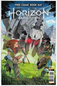 FCBD Horizon Zero Dawn #0 Unstamped (Titan, 2020) VF/NM