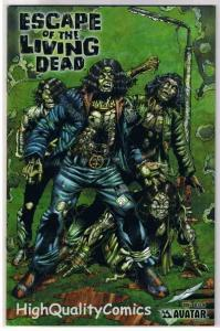 ESCAPE of the LIVING DEAD #1, NM, Avatar, Zombies, 2005, more Horror in store