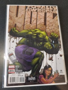 TOTALLY AWESOME HULK #23 CLASSIC COVER