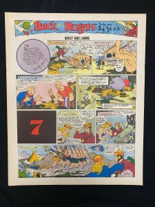 Buck Rogers #7- Sunday pages No. 73-84- large color reprints