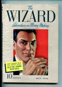 THE WIZARD-#1-OCT 1940-MYSTERY-PULP-SOUTHERN STATES PEDIGREE-fn/vf