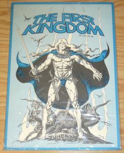 First Kingdom Portfolio by Jack Katz - signed & numbered 1981 sealed