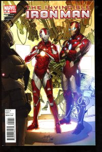 Invincible Iron Man #29 (2010)