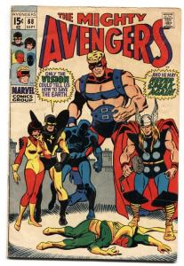 THE AVENGERS #68 1969 THOR VISION ULTRON comic book
