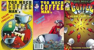 TOO MUCH COFFE MAN COLOR SPECIAL (1996 ADHESIVE) 1-3