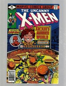 (Uncanny) X-Men # 123 VF Marvel Comic Book Beast Angel Cyclops Magneto SM19