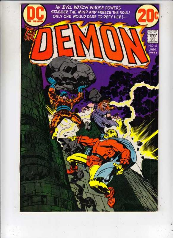 Demon, The #5 (Jan-73) NM+ Super-High-Grade Jason Blood, Merlin