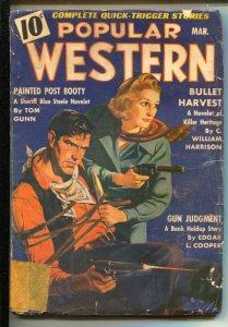 Popular Western 3/1940-Thrilling-Blue Steele story by Tom Gunn-G