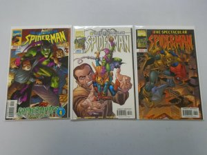 Spectacular Spider-Man lot 3 from #255-261 Goblin Appearances NM (1998)
