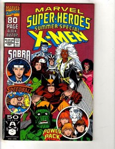 MARVEL SUPER-HEROES #6, VF, Summer Special, X-Men, 1991 more in store