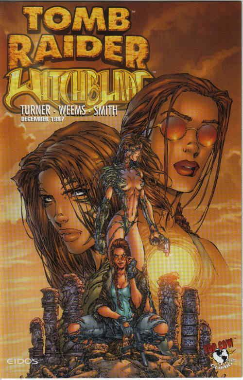 Tomb Raider Witchblade 1a Vf Nm Image Save On Shipping